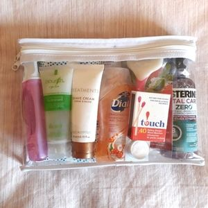 NEW woman's travel and hygiene kit